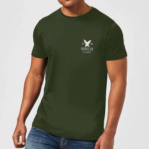 Native Shore Men's Surfs Up T-Shirt - Forest Green