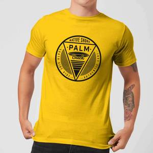 Native Shore Men's Palm Beach T-Shirt - Yellow