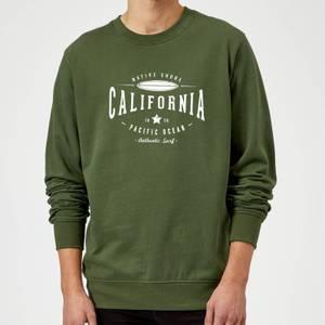 Native Shore California Sweatshirt - Forest Green