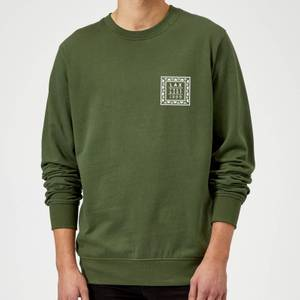 Native Shore Lax Free Surf Sweatshirt - Forest Green