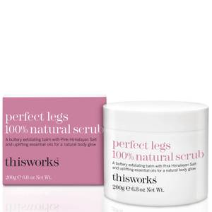 this works Perfect Legs 100% Natural Scrub 200g