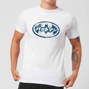 Batman Japanisches Logo T-Shirt - Weiß