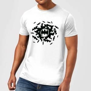 DC Comics Batman Bat Swirl T-Shirt in White