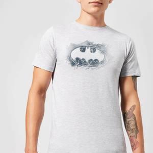 Batman Spray Logo T-Shirt - Grau