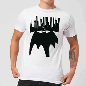 Batman Bat Shadow T-Shirt - Weiß