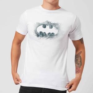 Batman Spray Logo T-Shirt - Weiß