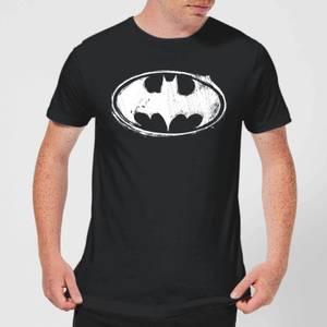 DC Comics Batman Sketch Logo T-Shirt - Black