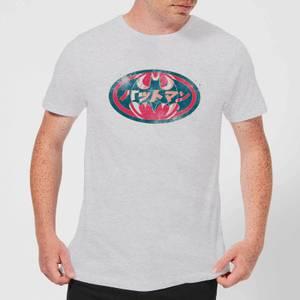T-Shirt Homme Batman DC Comics - Logo Japonais - Gris