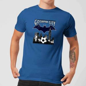 DC Comics Batman Football Gotham City T-Shirt in Royal Blue