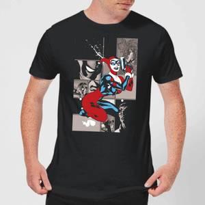 T-Shirt Homme Batman DC Comics - Harley Quinn Prend la Pause - Noir