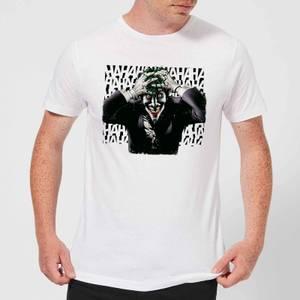 Camiseta DC Comics Batman Joker Hahaha - Hombre - Blanco