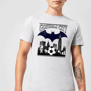 DC Comics Batman Football Gotham City T-Shirt in Grey