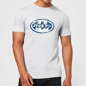 Batman Japanisches Logo T-Shirt - Grau