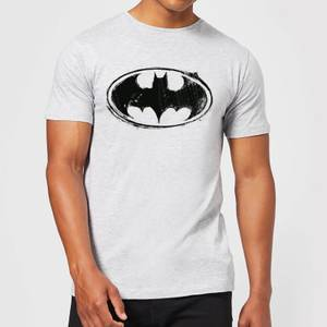 DC Comics Batman Sketch Logo T-Shirt in Grey
