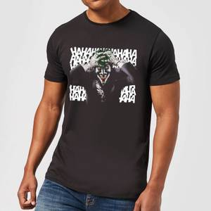 DC Comics Batman Killing Joker HaHaHa T-Shirt in Black