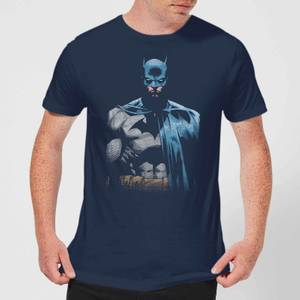 DC Comics Batman Close Up T-Shirt in Navy