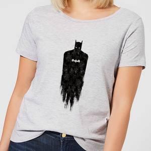 Batman Brushed Damen T-Shirt - Grau