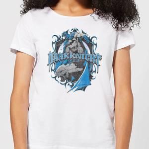 T-Shirt Femme Batman DC Comics - Bouclier Dark Knight - Blanc