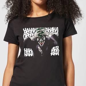 DC Comics Batman Killing Joker HaHaHa Women's T-Shirt in Black