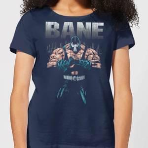 Batman Bane Damen T-Shirt - Navy Blau Blau