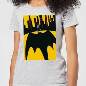 DC Comics Batman Bat Shadow Women's T-Shirt in Grey
