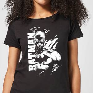 Batman Urban Split Damen T-Shirt - Schwarz