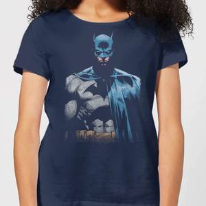 T-Shirt Femme Batman DC Comics - Ténébreux - Bleu Marine