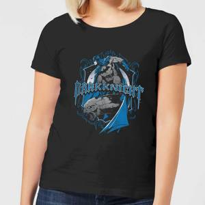 T-Shirt Femme Batman DC Comics - Bouclier Dark Knight - Noir