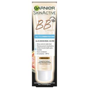 Garnier SkinActive BB Cream for Oily to Combination Skin - Medium 40ml