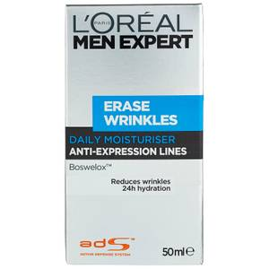 L'Oréal Paris Men Expert Erase Wrinkles Moisturiser 50ml