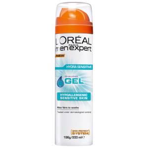 L'Oréal Paris Men Expert Hydra Sensitive Shaving Gel 200ml