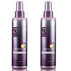Pureology Colour Fanatic Spray Duo spray do włosów 2 szt. 200 ml