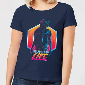 Camiseta Ready Player One Gunter Life - Mujer - Azul marino