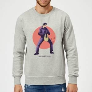 The Big Lebowski The Jesus Sweatshirt - Grey
