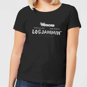 The Big Lebowski Logjammin Women's T-Shirt - Black