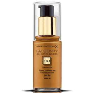 Max Factor Facefinity 3 in 1 All Day Flawless Foundation 30ml - 95 Tawny