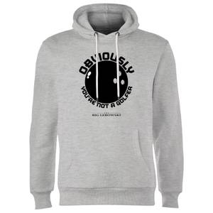 Sweat à Capuche Homme The Big Lebowski Obviously Youre Not A Golfer - Gris