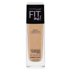Maybelline Fit Me Dewy & Smooth Foundation 30ml (Various Shades)