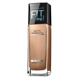 Maybelline Fit Me! Matte and Poreless Mattifying Liquid Foundation 30ml (Various Shades)