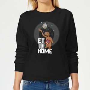 E.T. Phone Home Women's Sweatshirt - Black