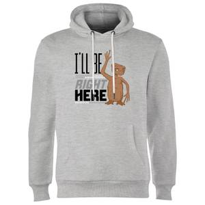 ET I'll Be Right Here Hoodie - Grey