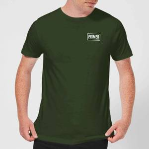 Primed Chest Logo T-Shirt - Forest Green