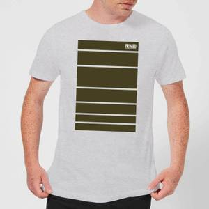 Primed Block T-Shirt - Grey
