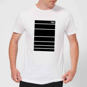 Primed Block T-Shirt - White