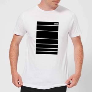 Primed Block T-Shirt - White