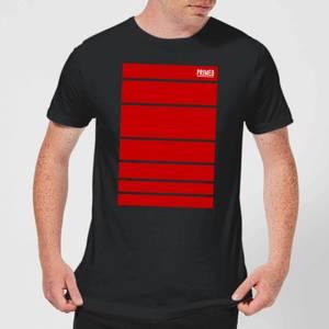 Primed Block T-Shirt - Black