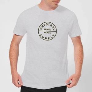 Primed Label MCMXC T-Shirt - Grey