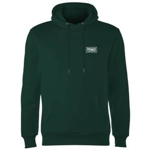 Primed Chest Logo Hoodie - Forest Green