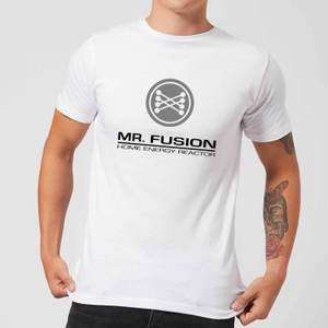 Back To The Future Mr Fusion T-Shirt - White