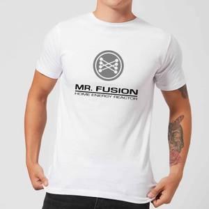 Zurück In Die Zukunft Mr Fusion T-Shirt - Weiß